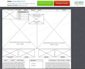 web design comp example