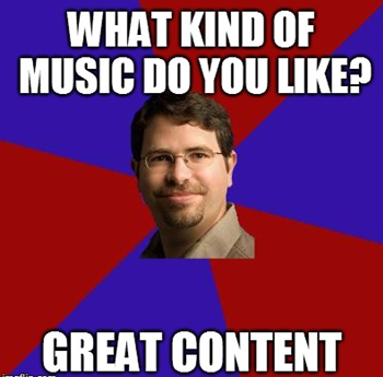 seo meme music-great content- matt cutts joke