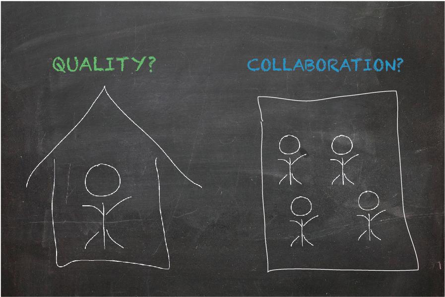 quality vs collaboration